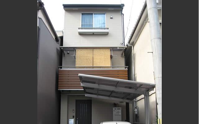 京都に多い狭小地でも明るく暮らせる家